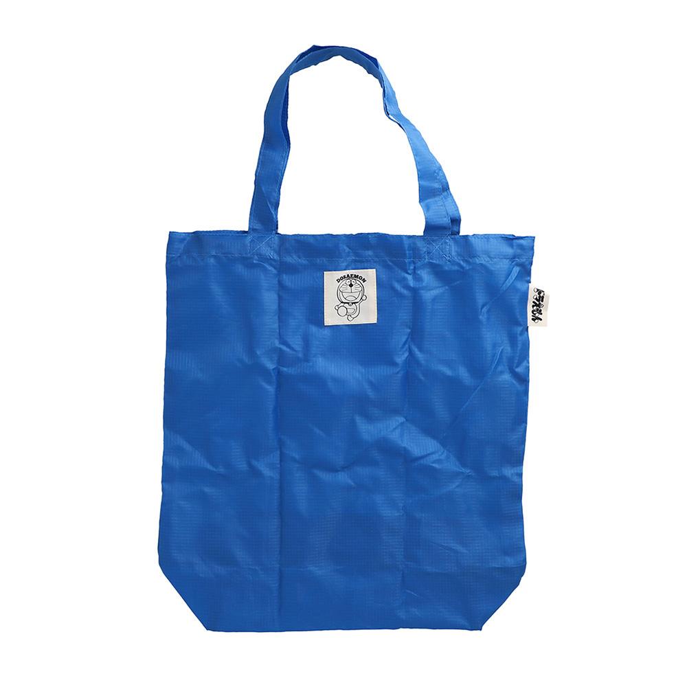 折りたたみトートバッグ ブルー