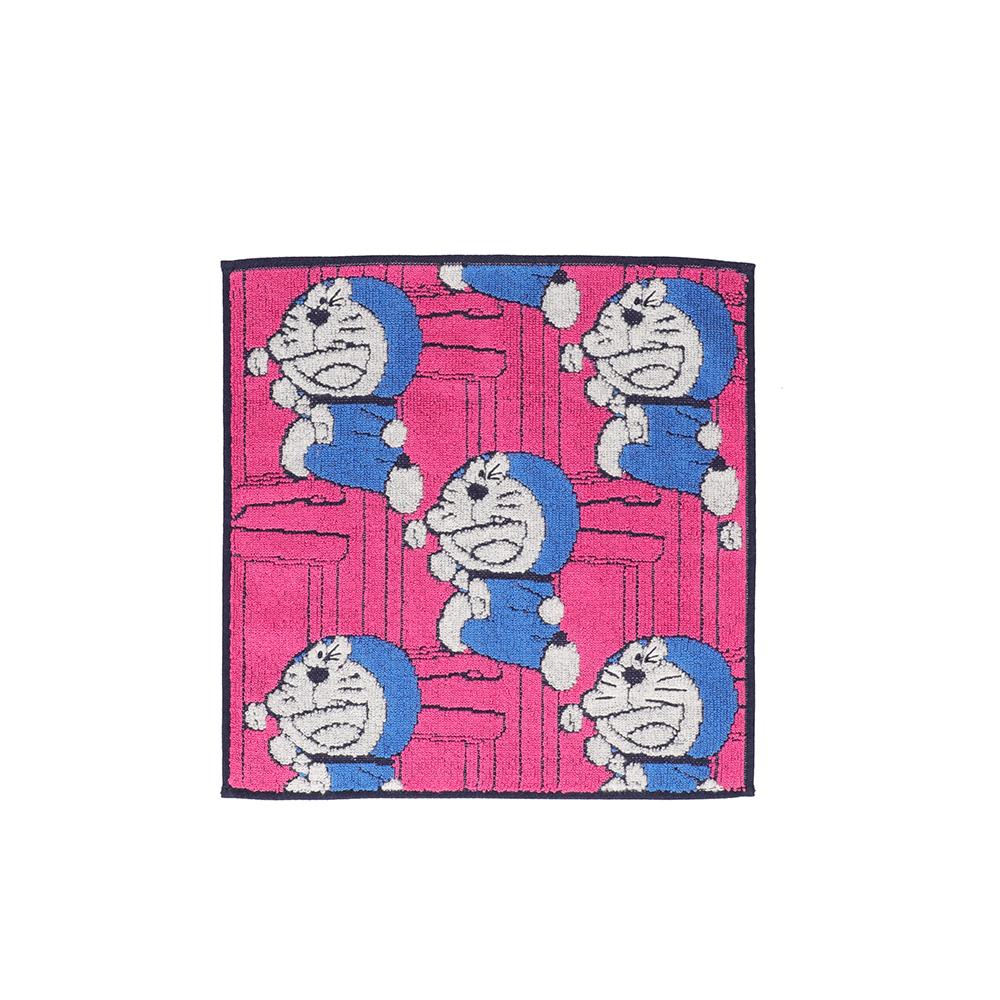 タオルハンカチ どこでもドア ピンク