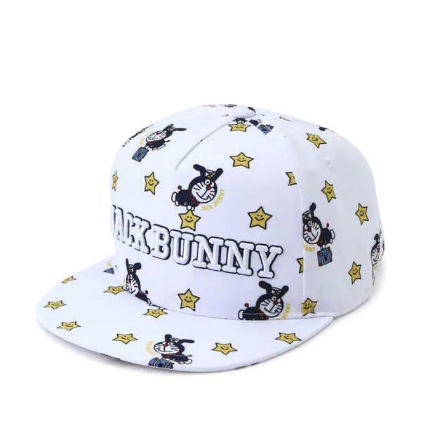 Jack Bunny!!願い星平つばキャップ ホワイト