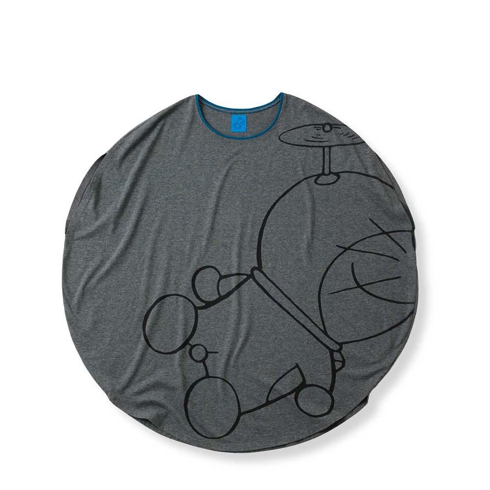 ドラえもん まんまるプリントTシャツ M