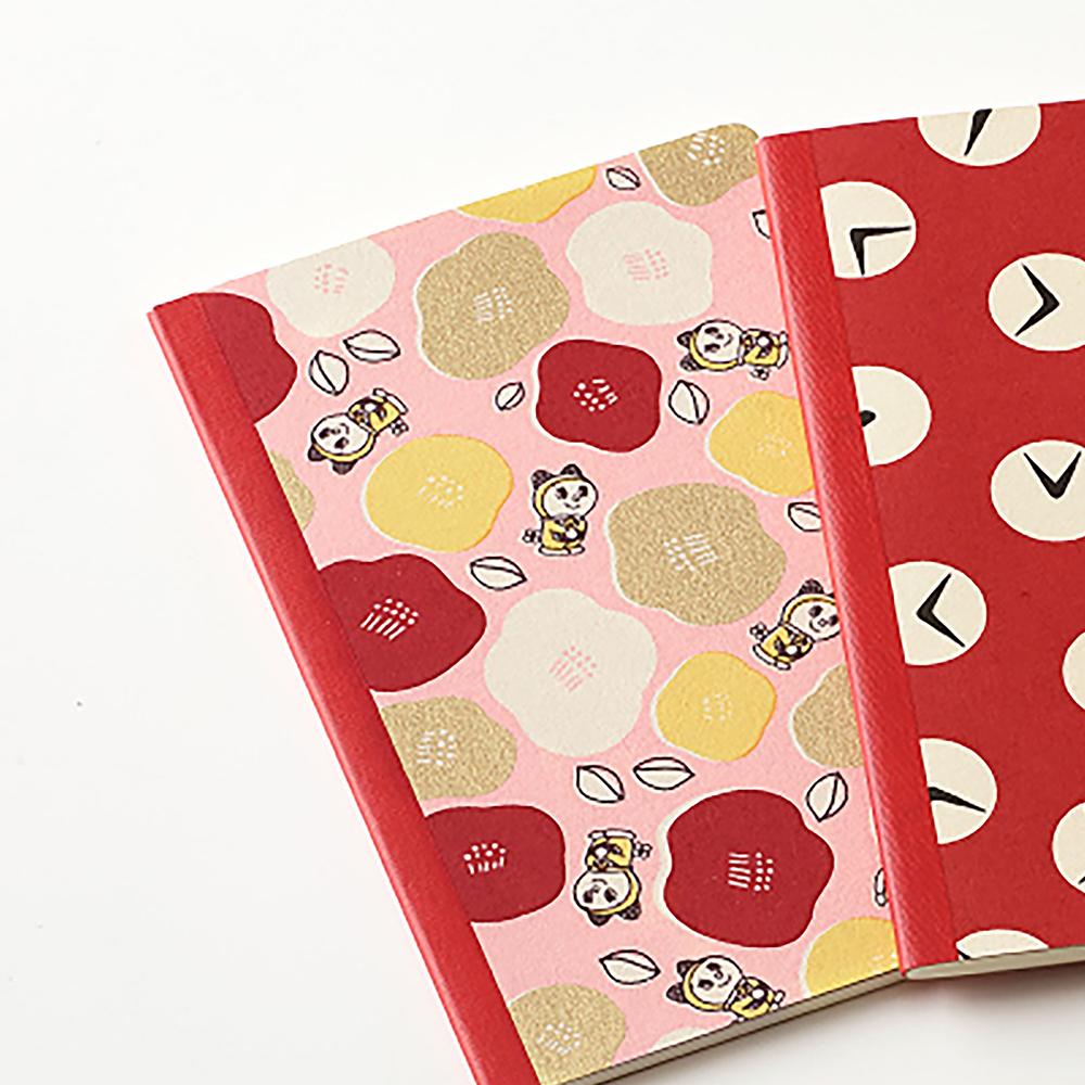 ドラえもん 和装ノート【ドラミはんなり椿 ピンク】