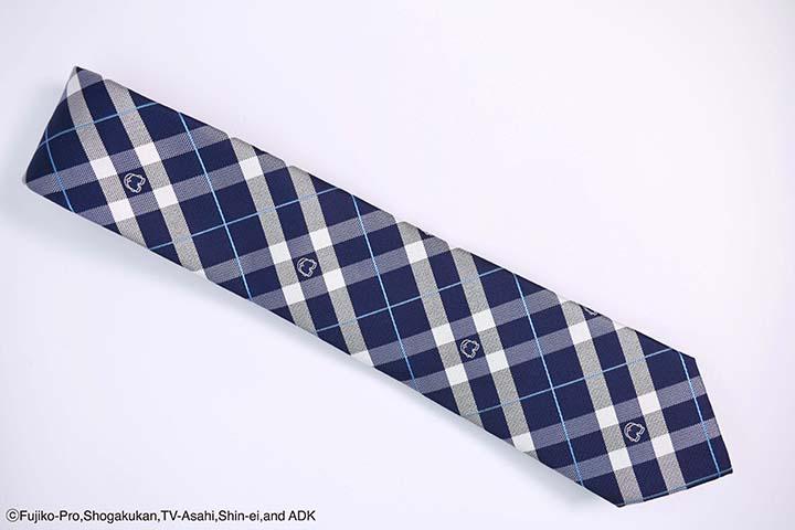 ネクタイ おしりチェック ネイビーブルー
