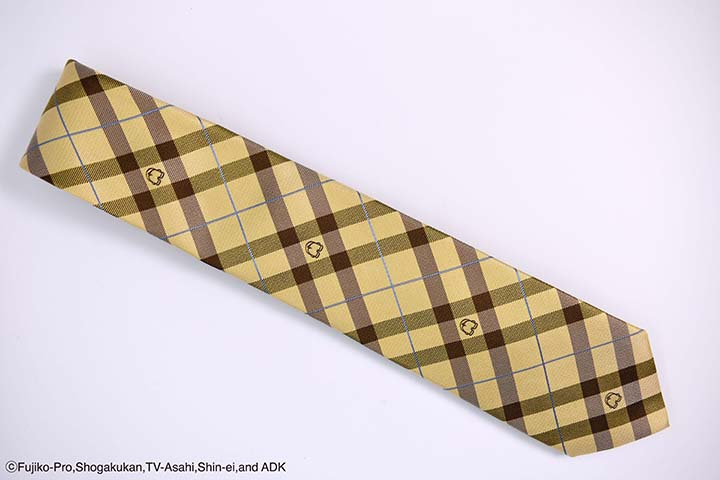 ネクタイ おしりチェック 黄