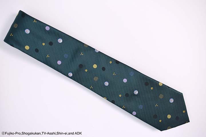 ネクタイ ドラドット 緑