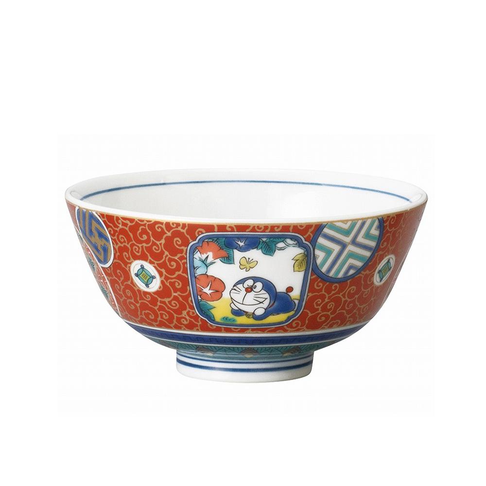九谷焼茶碗 (庄三風・彩色金欄手)
