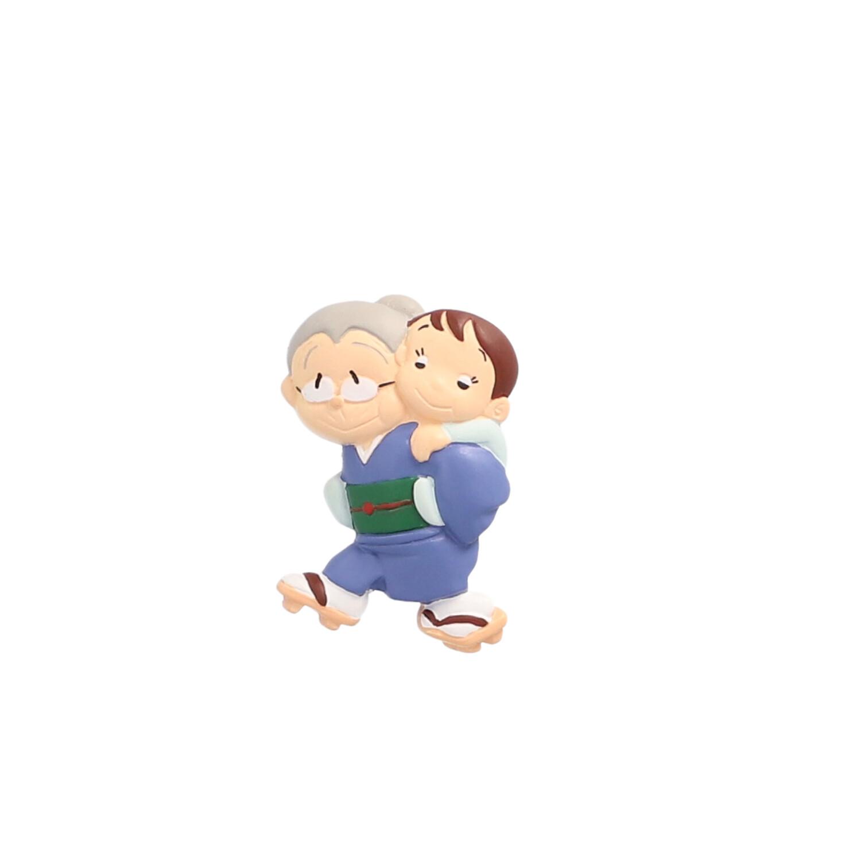 半立体マグネット のび太とおばあちゃん