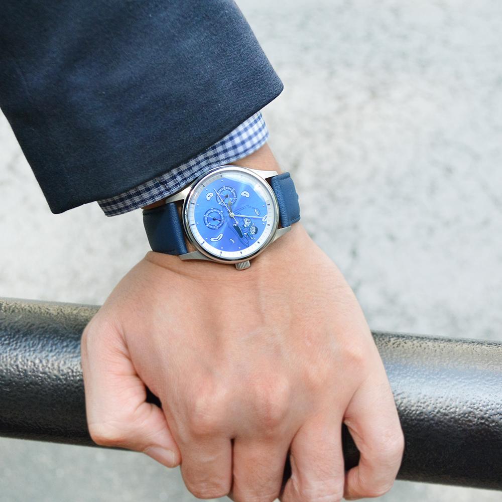 【12月下旬発送予定】ドラえもん 腕時計 タイムマシン※通常ver