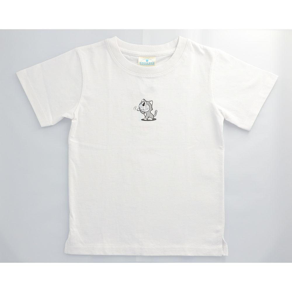 ドラえもん ひみつ道具Tシャツ カムカムキャットフード    120