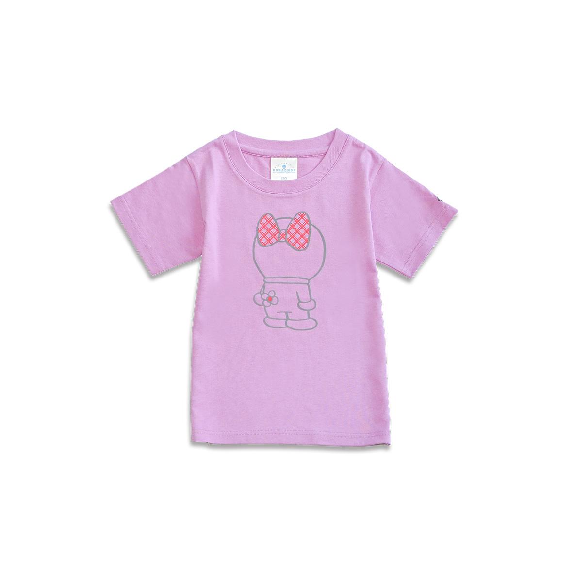 Tシャツ ドラミ後ろすがた ピンク120