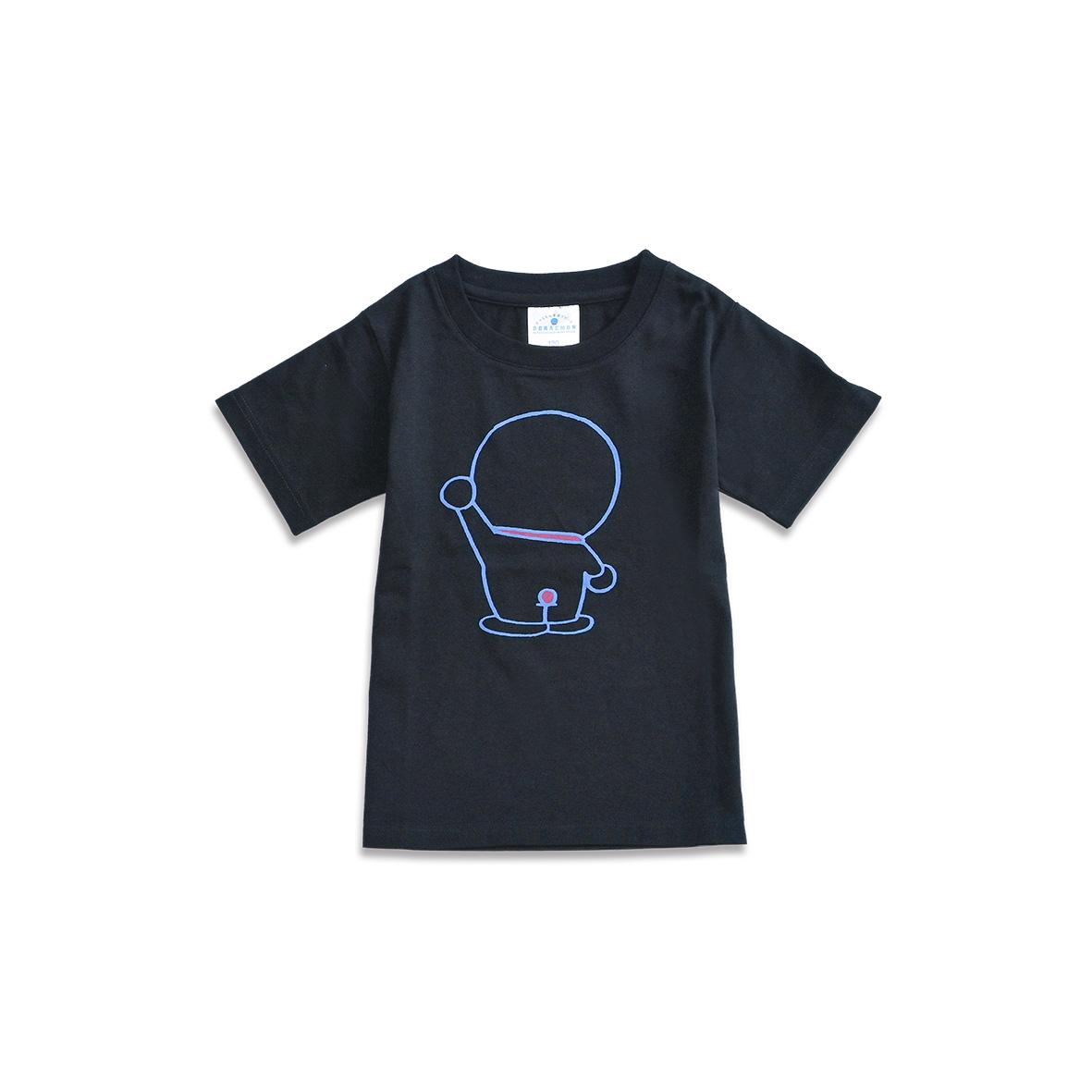 【オンライン限定】Tシャツ ドラえもん後ろすがた ブラック130
