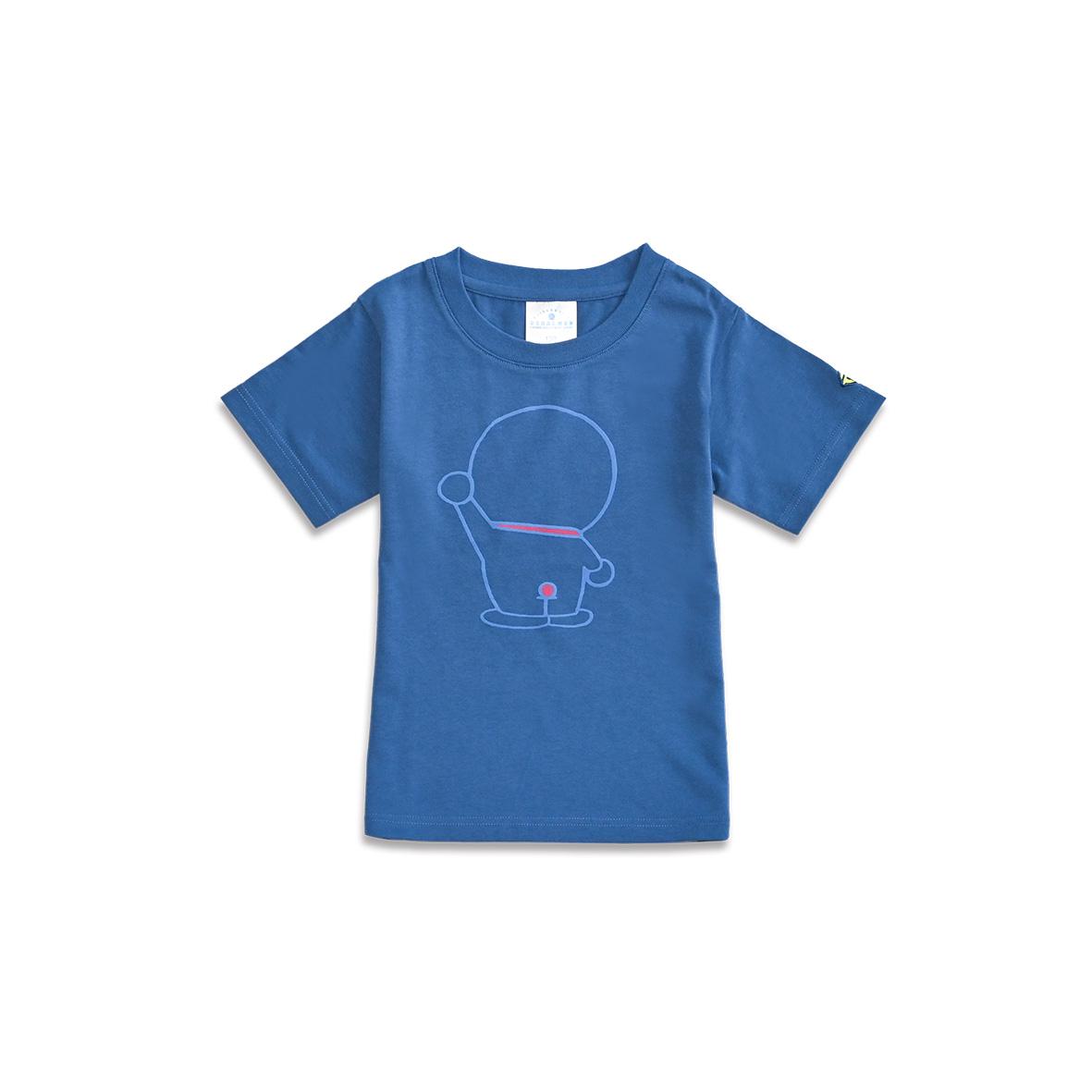 Tシャツ ドラえもん後ろすがた ブルー120