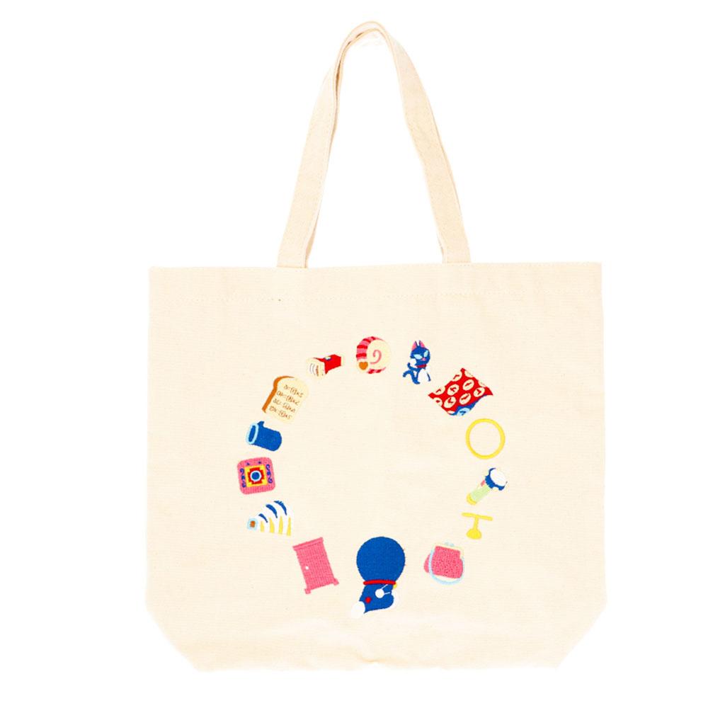 ドラえもん 刺繍トートバッグ(ひみつ道具)