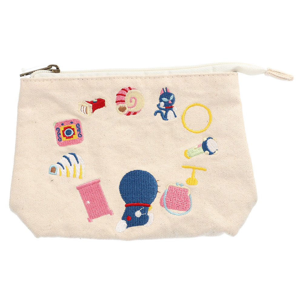 ドラえもん 刺繍ポーチ(ひみつ道具)